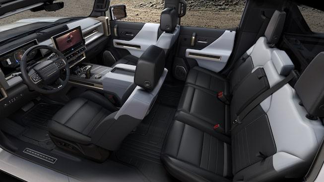 GMC Hummer EV SUV wnętrze