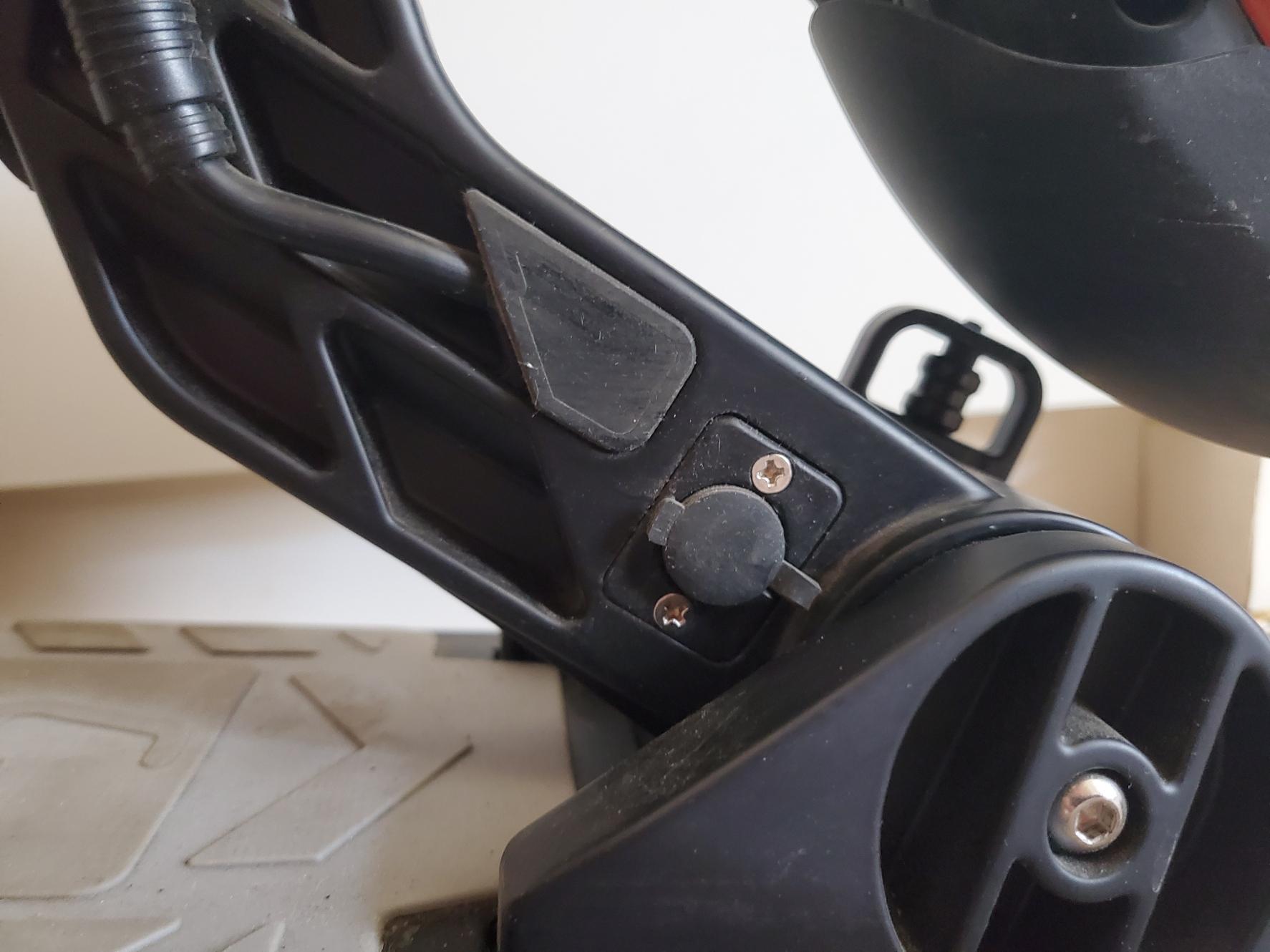 hulajnoga elektryczna kugoo s1 plus złącze ładowania