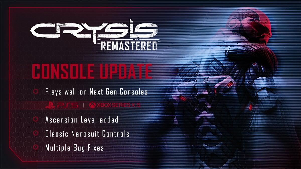 Crysis Remastered Next-Gen