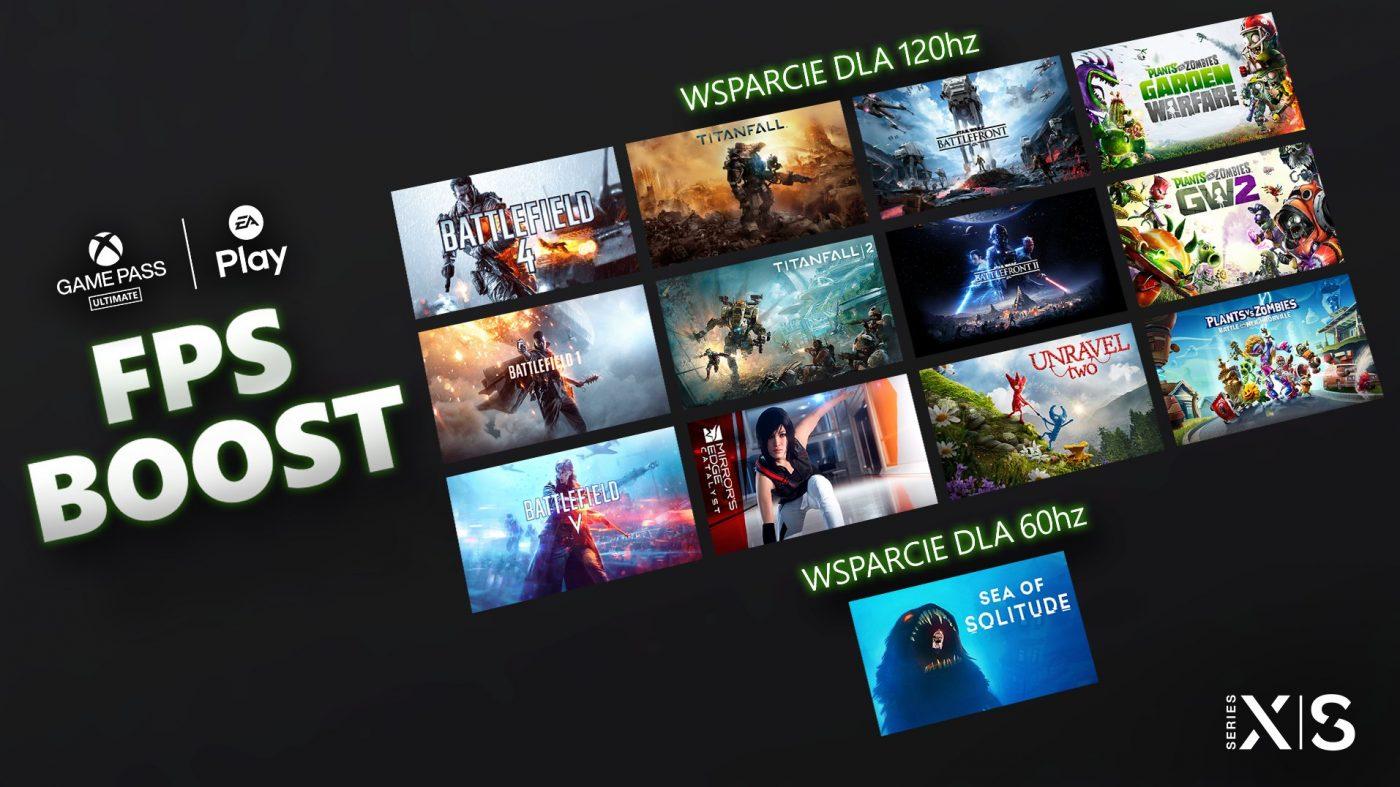 FPS Boost nowe gry EA Battlefield Star Wars 120 FPS