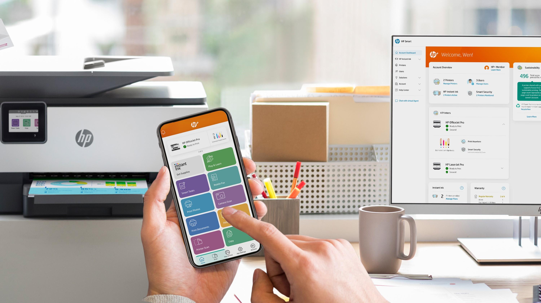 HP+ Smart App