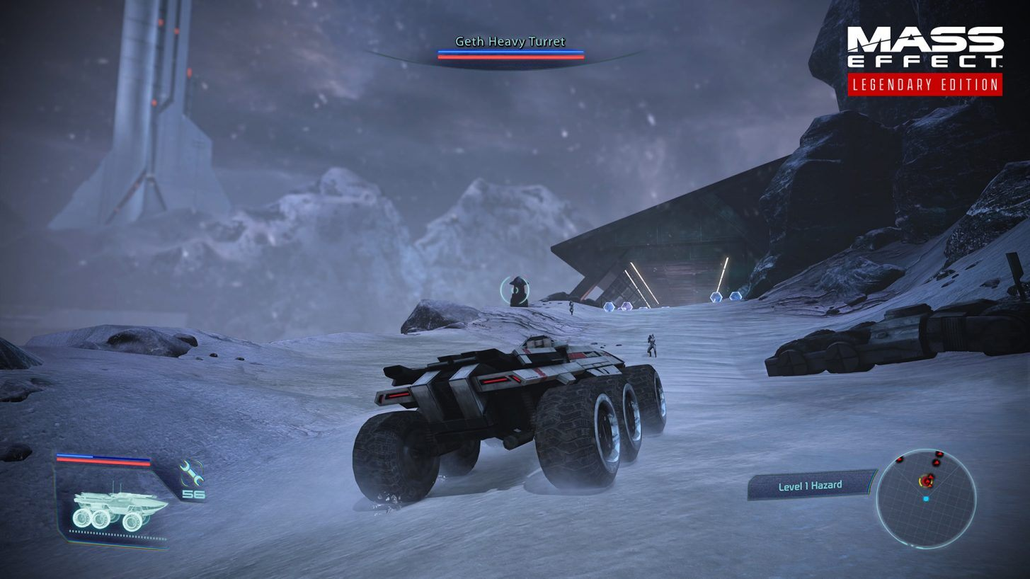 Mass Effect Legendary Edition  - Pojazd M-35 Mako