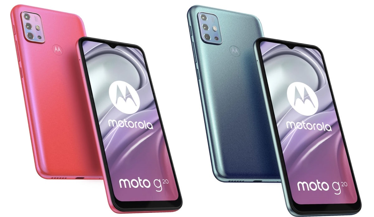 smartfon Motorola Moto G20 smartphone