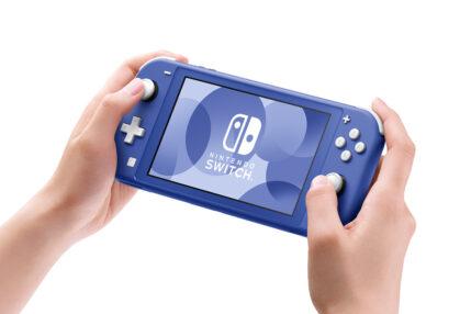 Nintendo Switch Lite Blue Niebieski Nowy Kolor