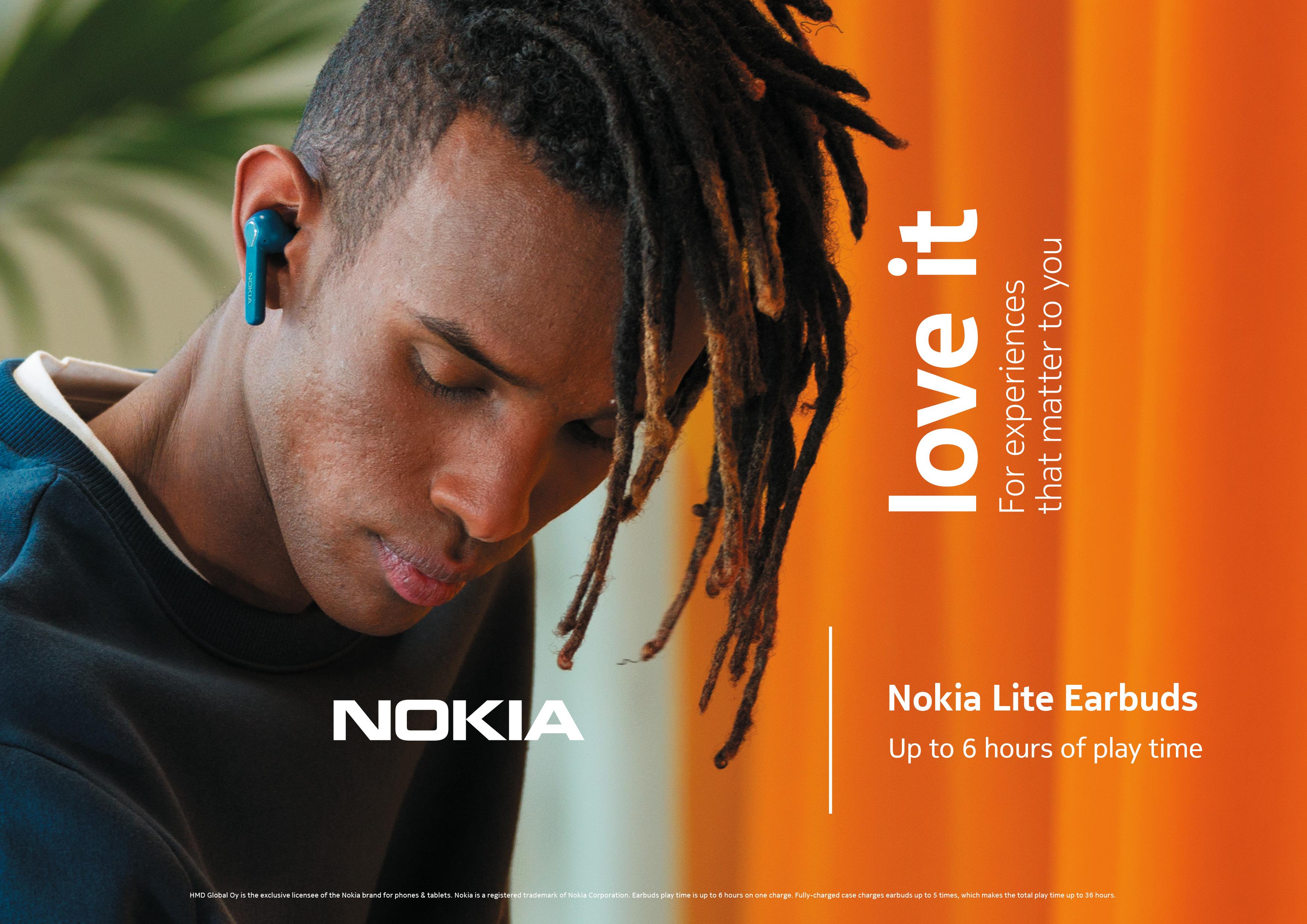 słuchawki bezprzewodowe Nokia Lite Earbuds