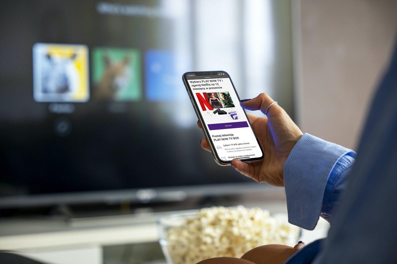 Play promocja Netflix w prezencie nawet na 12 miesięcy