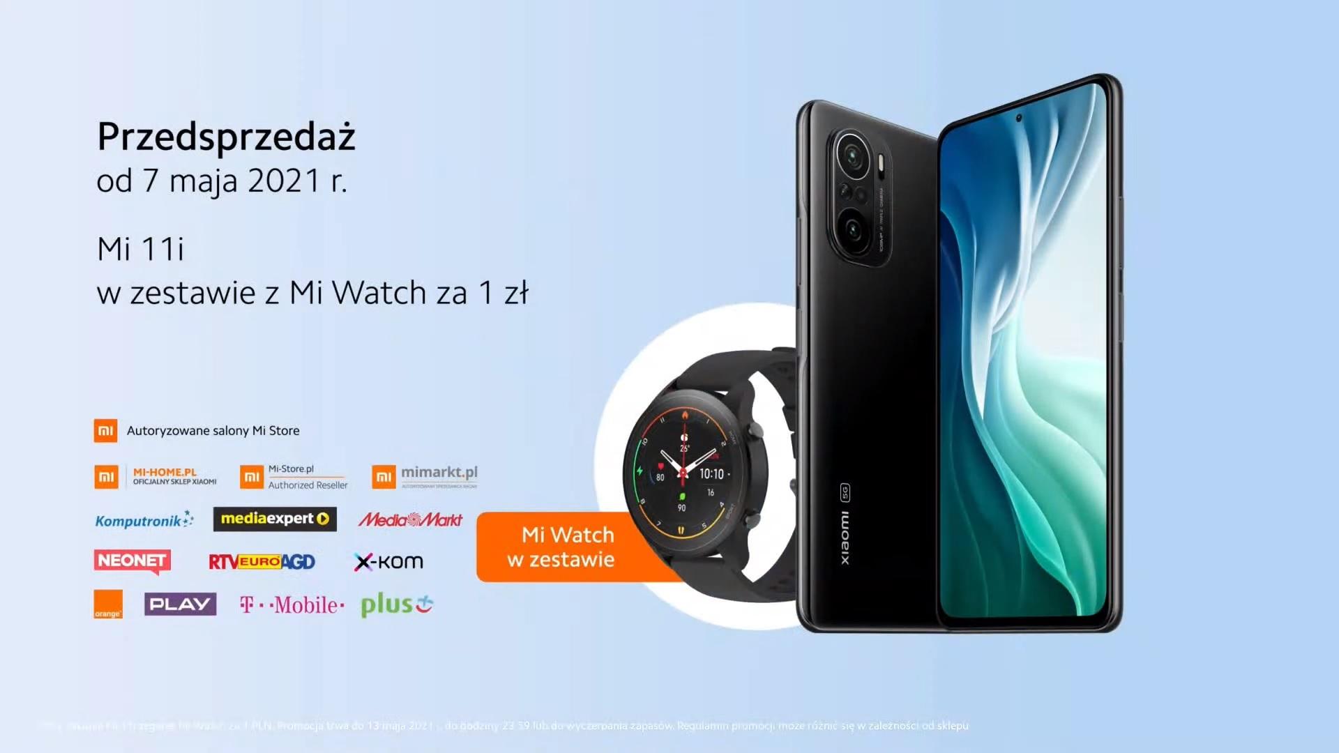 Xiaomi Mi 11i przedsprzedaż