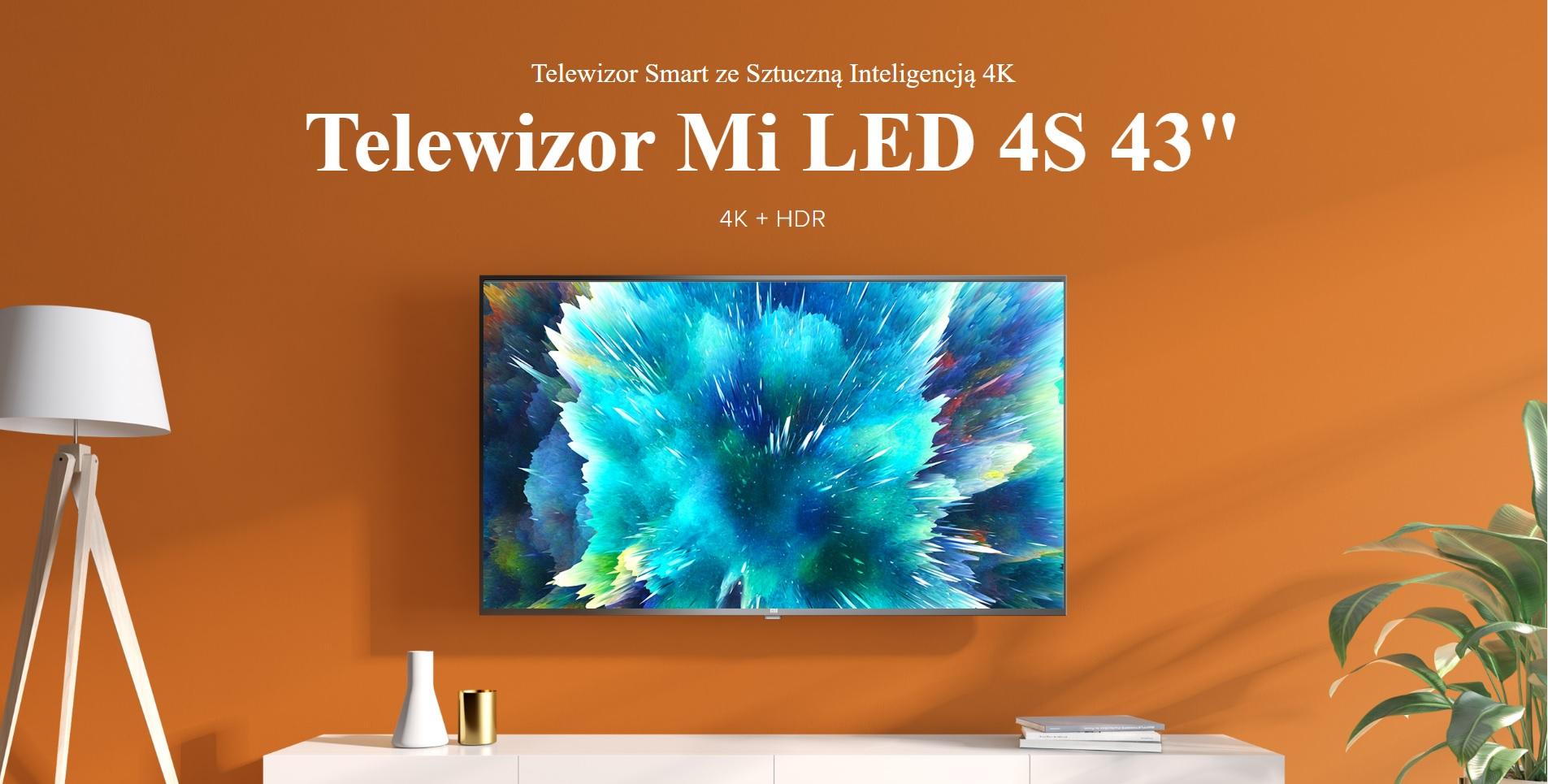 telewizor Xiaomi Mi TV 4S 43 cale