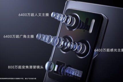 smartfon ZTE Axon 30 Ultra 5G smartphone camera