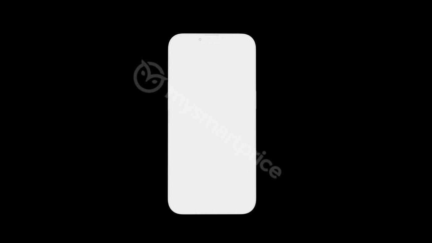 smartfon iPhone 13 smartphone render