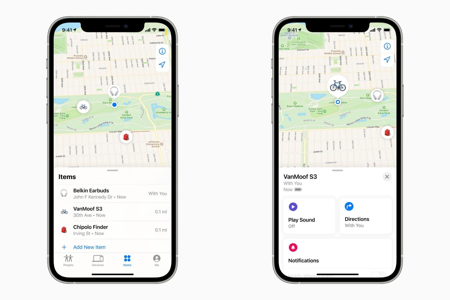 Aplikacja Apple Lokalizator