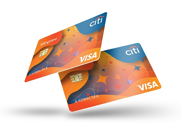 karta kredytowa Citibank-AliExpress VISA