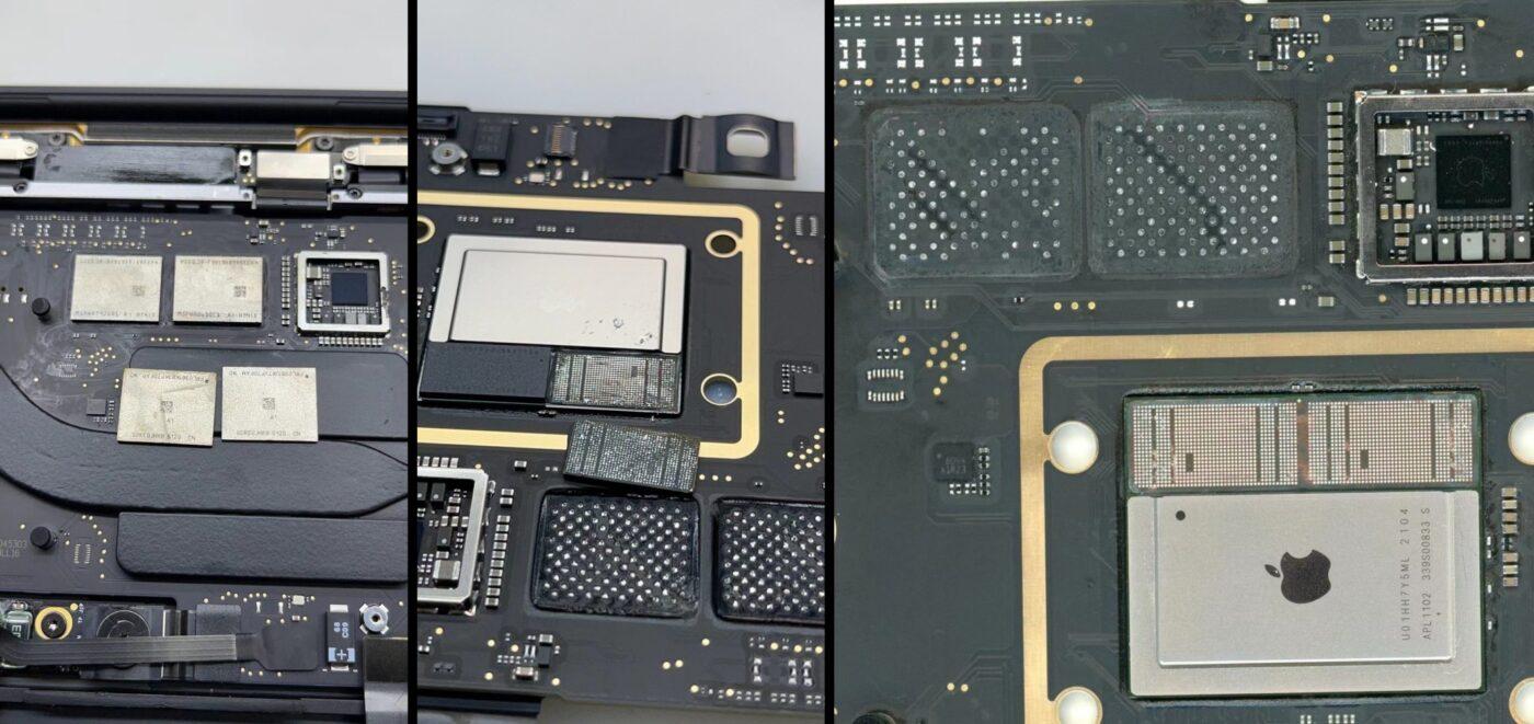 MacBook Air z Apple M1 – wymiana RAM i SSD.