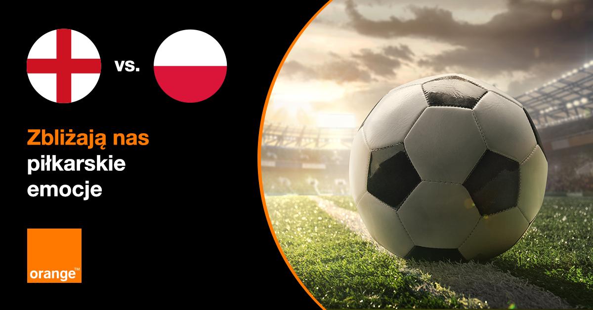 mecz Polska Anglia na Wembley 2021 Orange