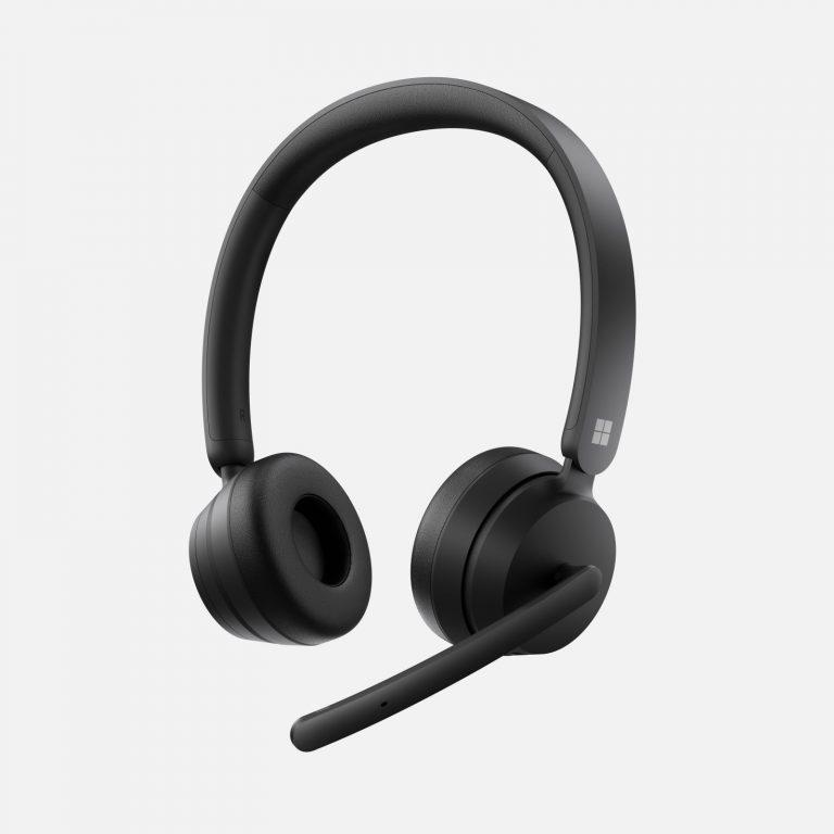Microsoft Modern Headset, wersja USB i bezprzewodowa - fot. Microsoft