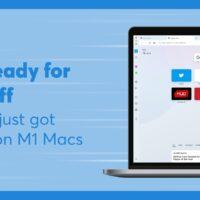 Opera zyskuje natywne wsparcie Apple M1