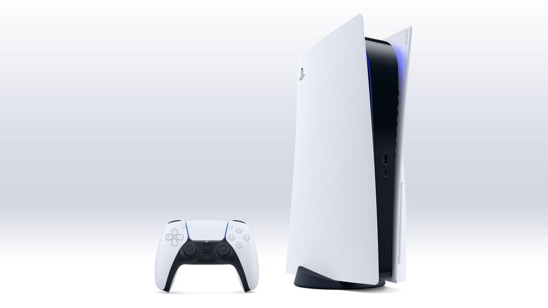 Oficjalna grafika PlayStation 5 (źródło: PlayStation Blog)