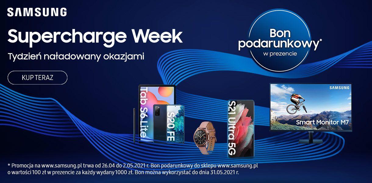 promocja Samsung Supercharge Week