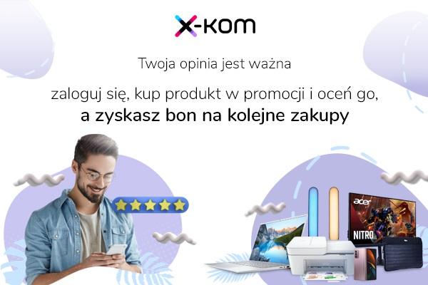 promocja x-kom bony za opinie