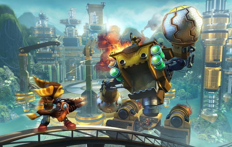Ratchet & Clank: Tools of Destruction to jedna z gier, w które koniecznie trzeba zagrać mając PlayStation 3 (źródło; Neoseeker)