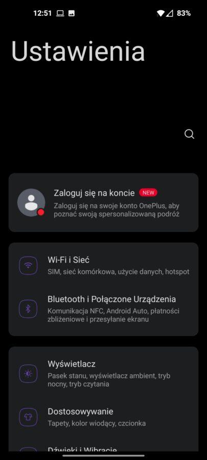 Recenzja OnePlus 9 5G - Estetyka OxygenOS 11 - fot. Tabletowo.pl