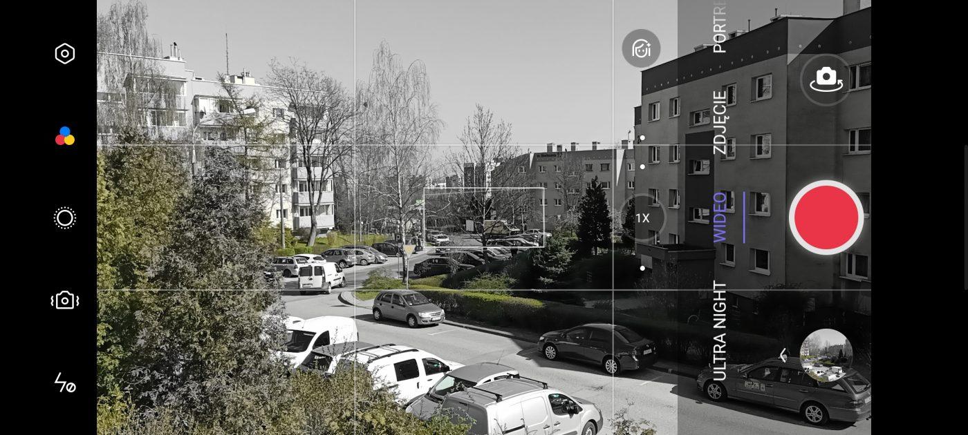 Recenzja Oppo Reno5 Lite - Tryby wideo - fot. tabletowo.pl