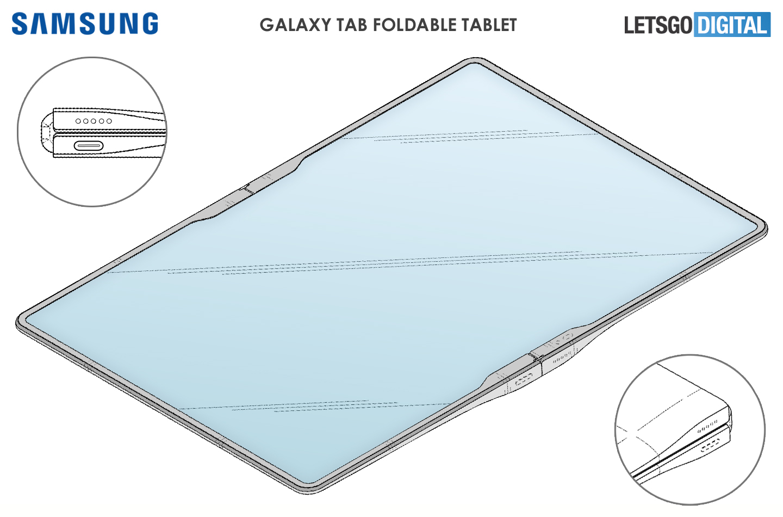 składany tablet Samsung