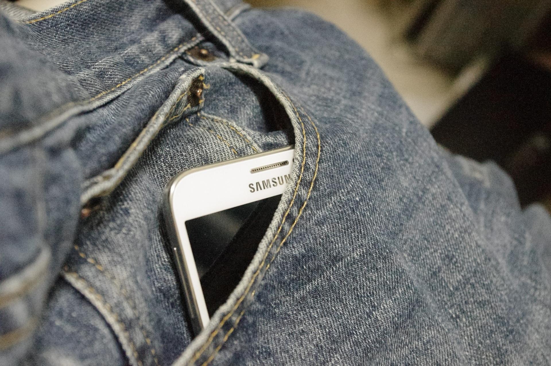 smartfon Samsung smartphone logo