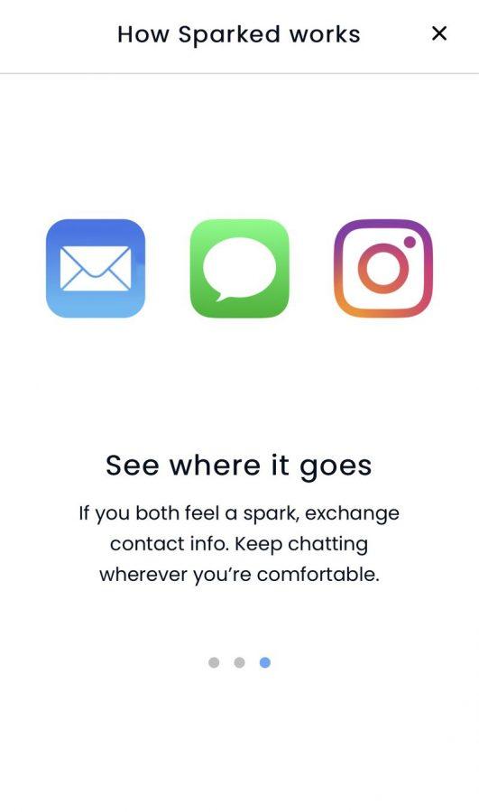 zrzut ekranu z aplikacji sparked