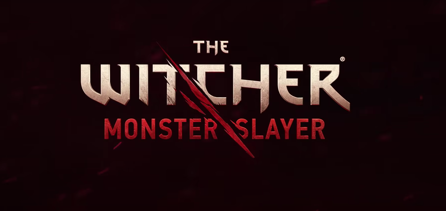 The Witcher Monster Slayer - Logo