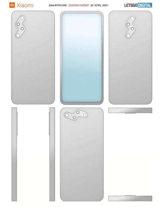 smartfon Xiaomi aparat patent smartphone camera