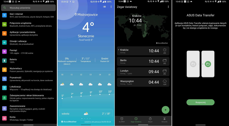 Asus ZenFone 7 Pro - zmiany w wyglądzie aplikacji - Android 11 - fot. Tabletowo.pl