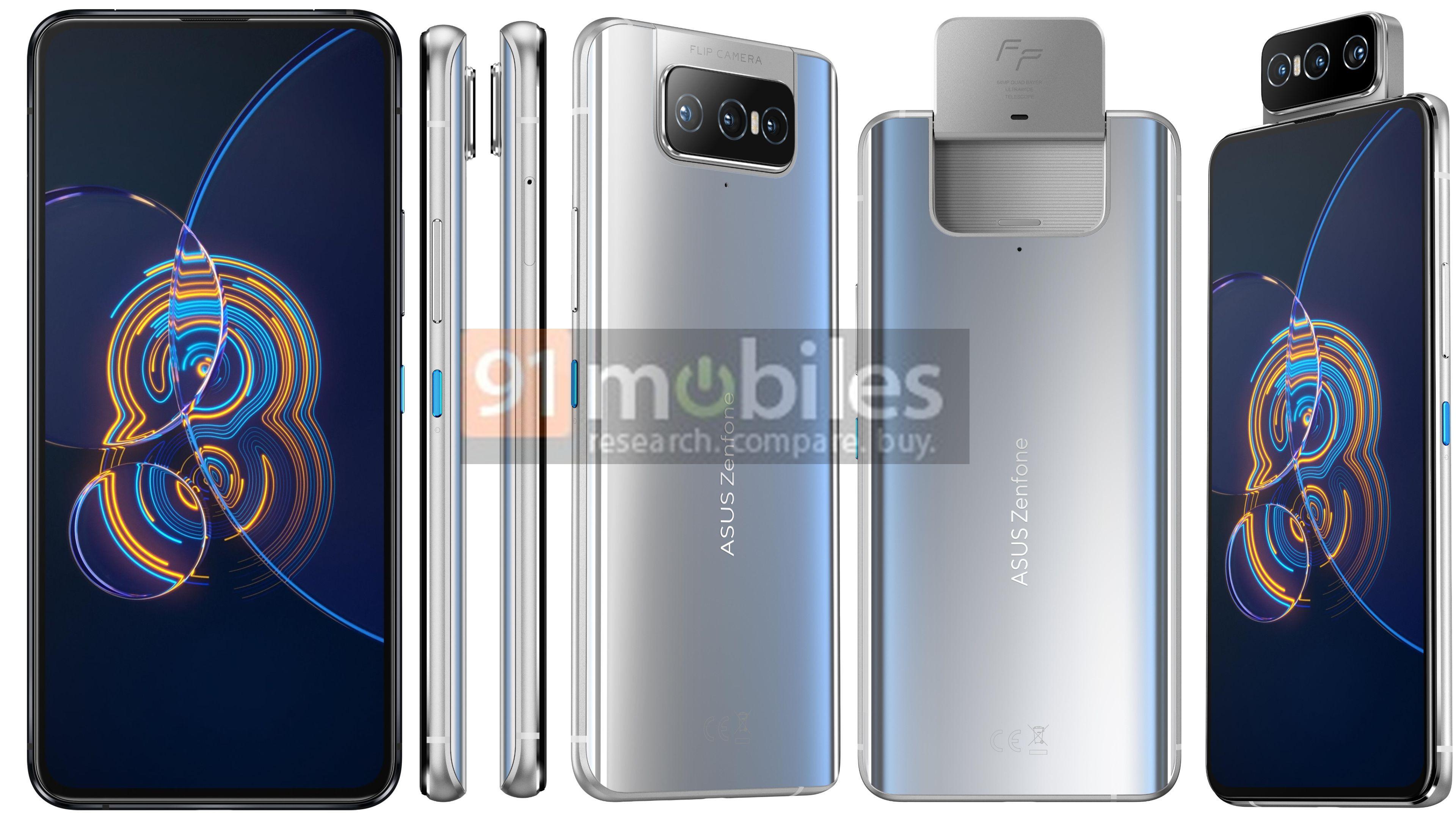 smartfon Asus ZenFone 8 Flip smartphone