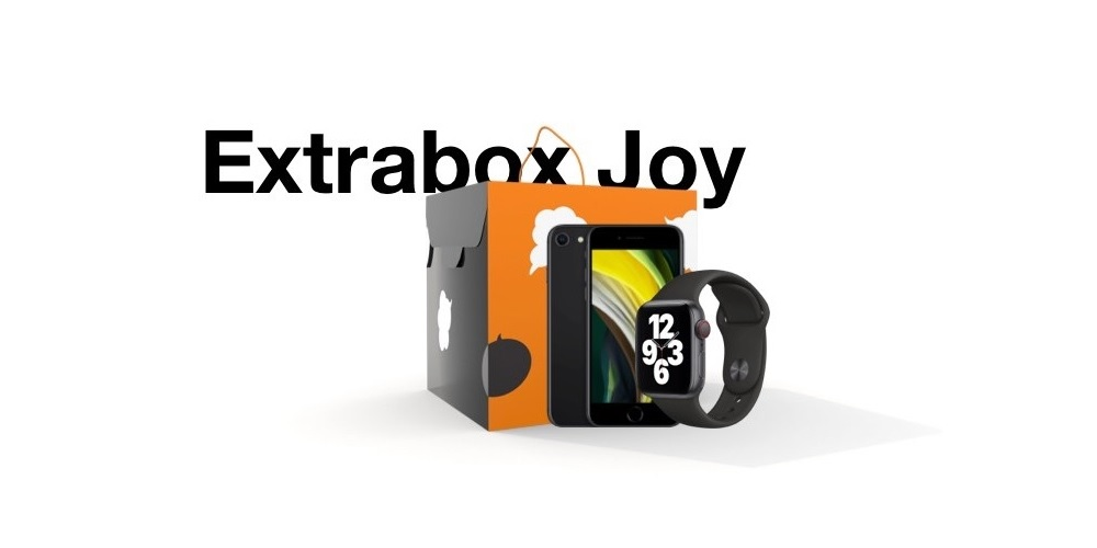 Orange przygotowało Extrabox Joy – pudełko, w którym można znaleźć m.in. iPhone'a i Apple Watch