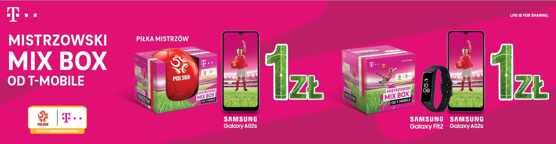 T-Mobile MIX BOX na UEFA 2021 zestawy