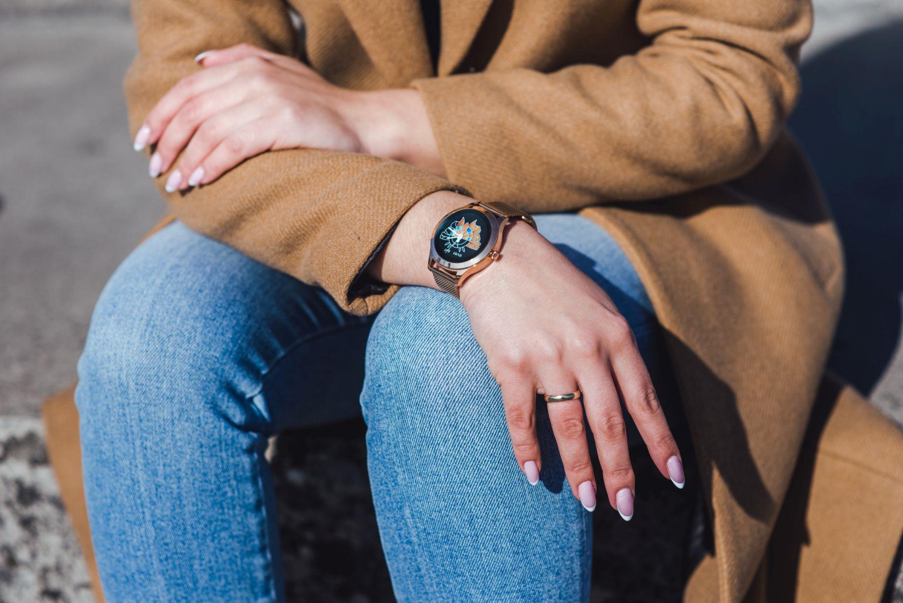 Smartwatch Maxcom FW42 Gold