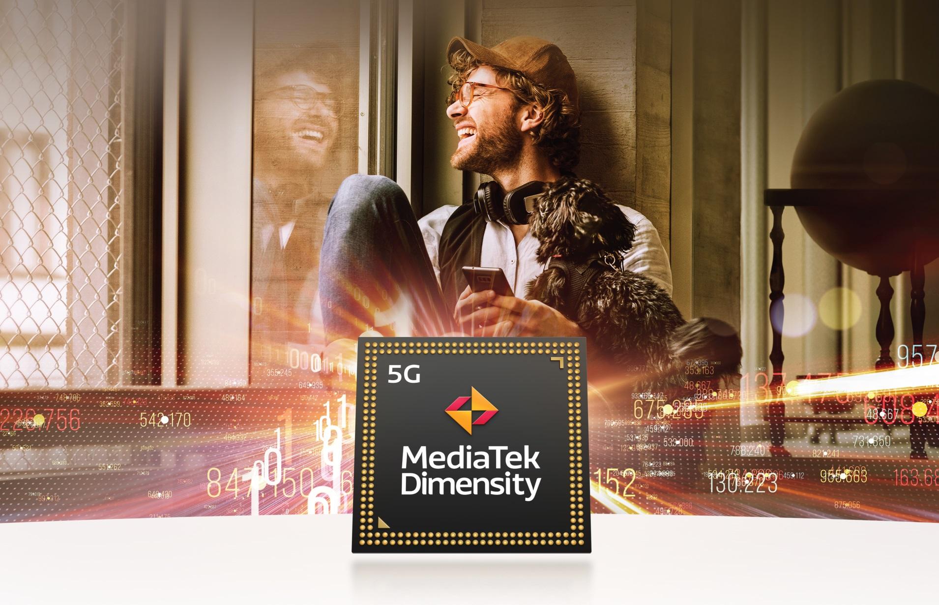 MediaTek Dimensity 5G logo