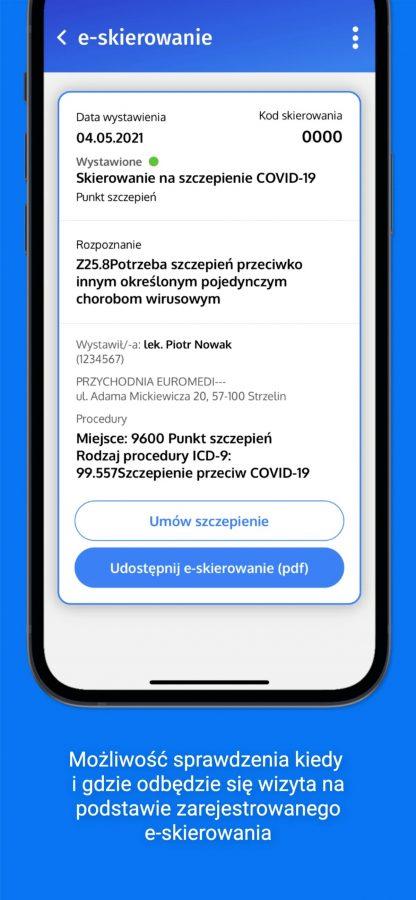 aplikacja mojeIKP Internetowe Konto Pacjenta na iOS