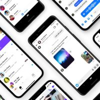 aplikacja Facebook Messenger Instagram application
