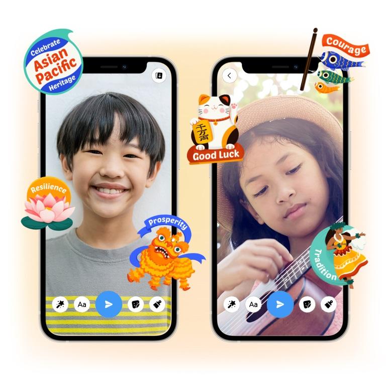 facebook messenger kids naklejki stickers