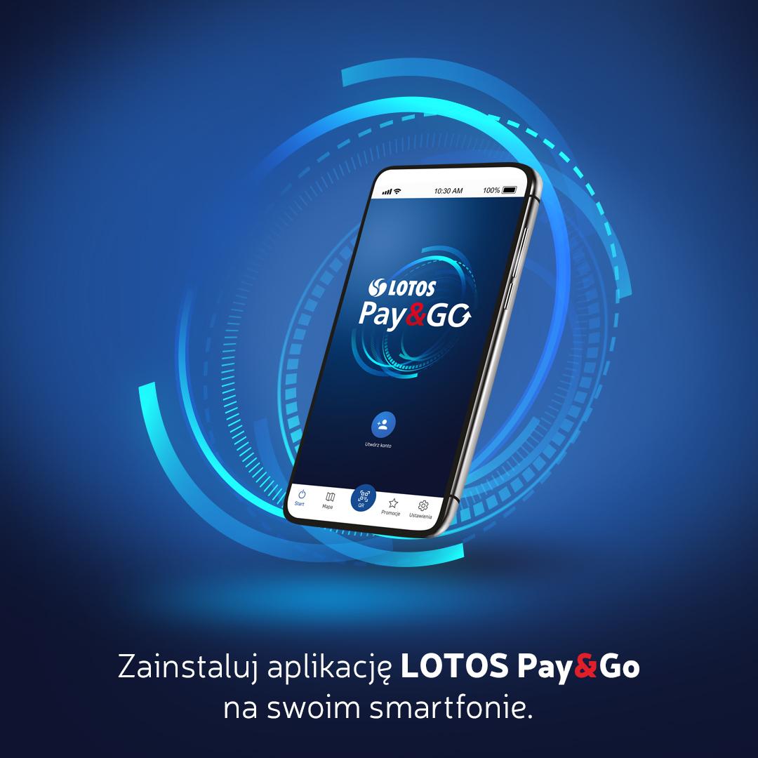 aplikacja Lotos Pay&Go
