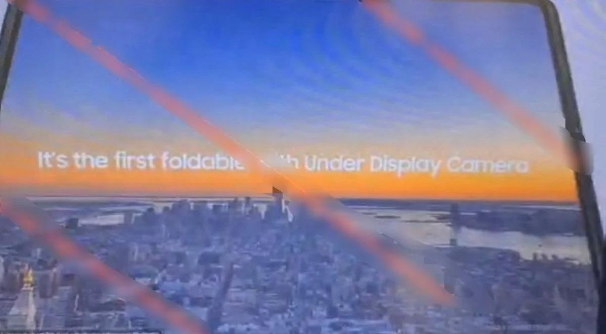 składany smartfon Samsung Galaxy Z Fold 3 foldable smartphone