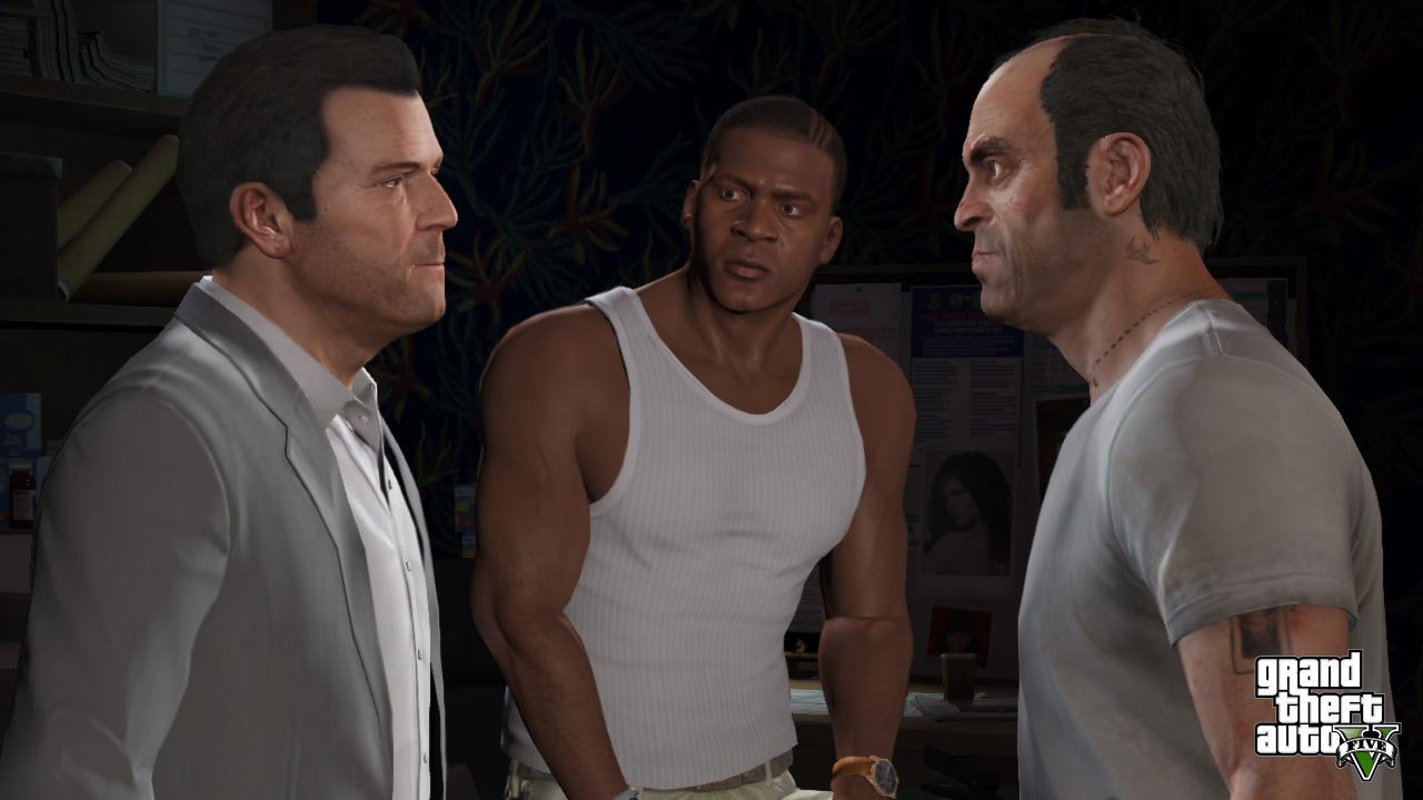 Panie, bierzesz Pan to GTA V czy nie? To wszystko co mamy! (źródło: Rockstar Games)