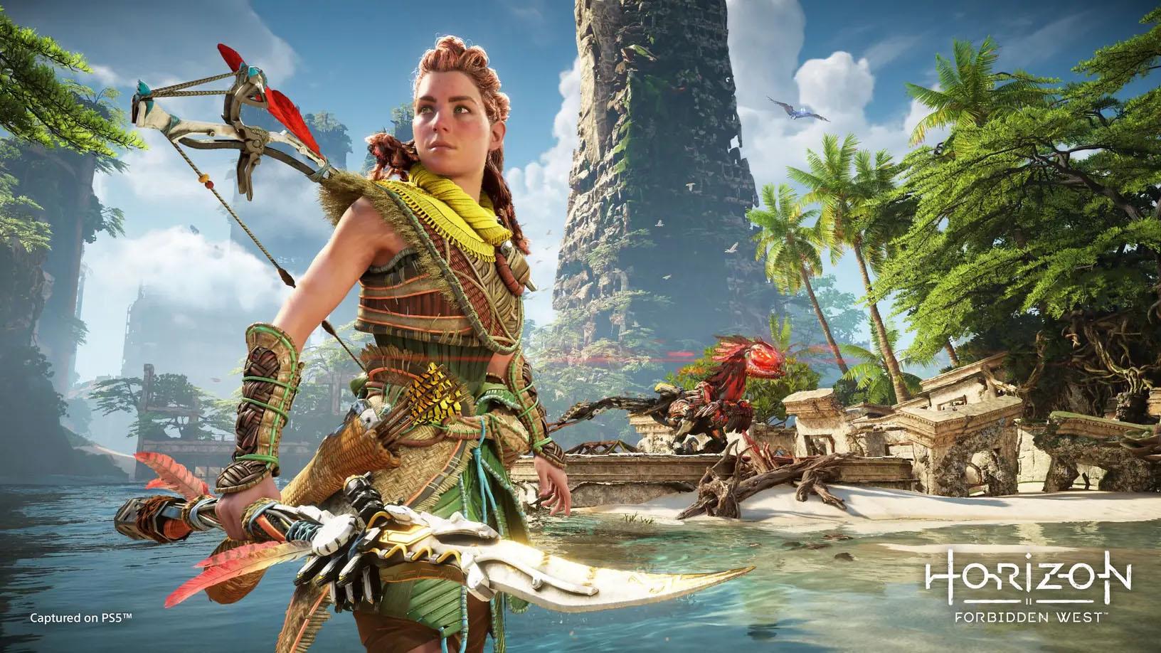 Horizon: Forbidden West, czyli Aloy w pełni możliwości (źródło: PlayStation)