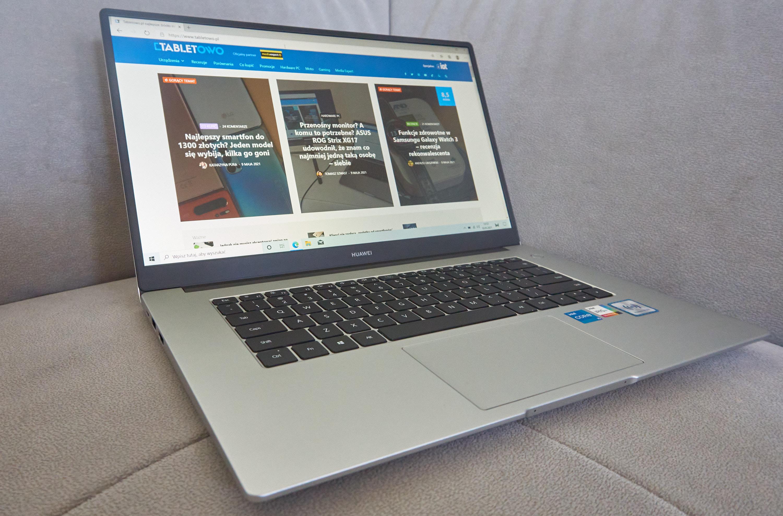 Huawei MateBook D 15 fot. Tabletowo.pl