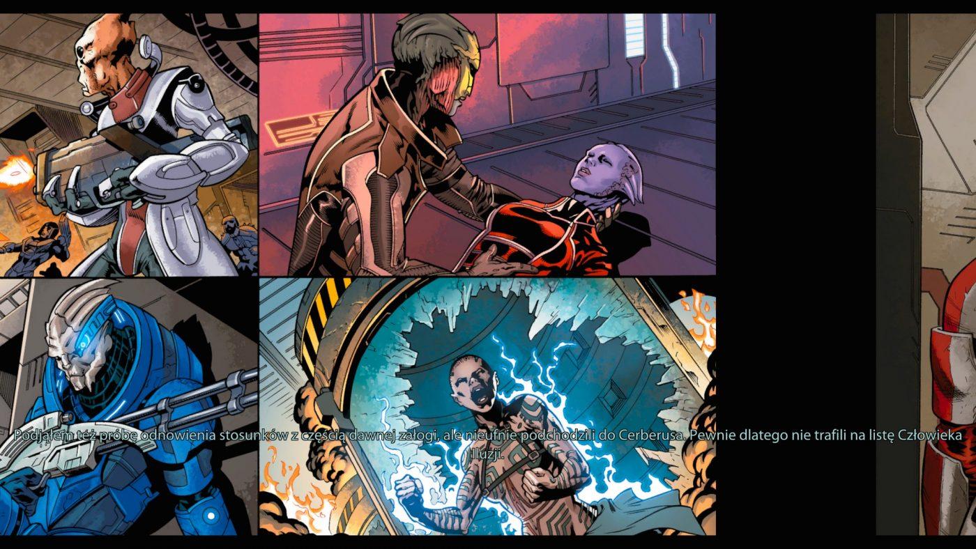 Mass Effect Edycja Legendarna - Komiks Genesis - Screenshot - fot. Tabletowo.pl