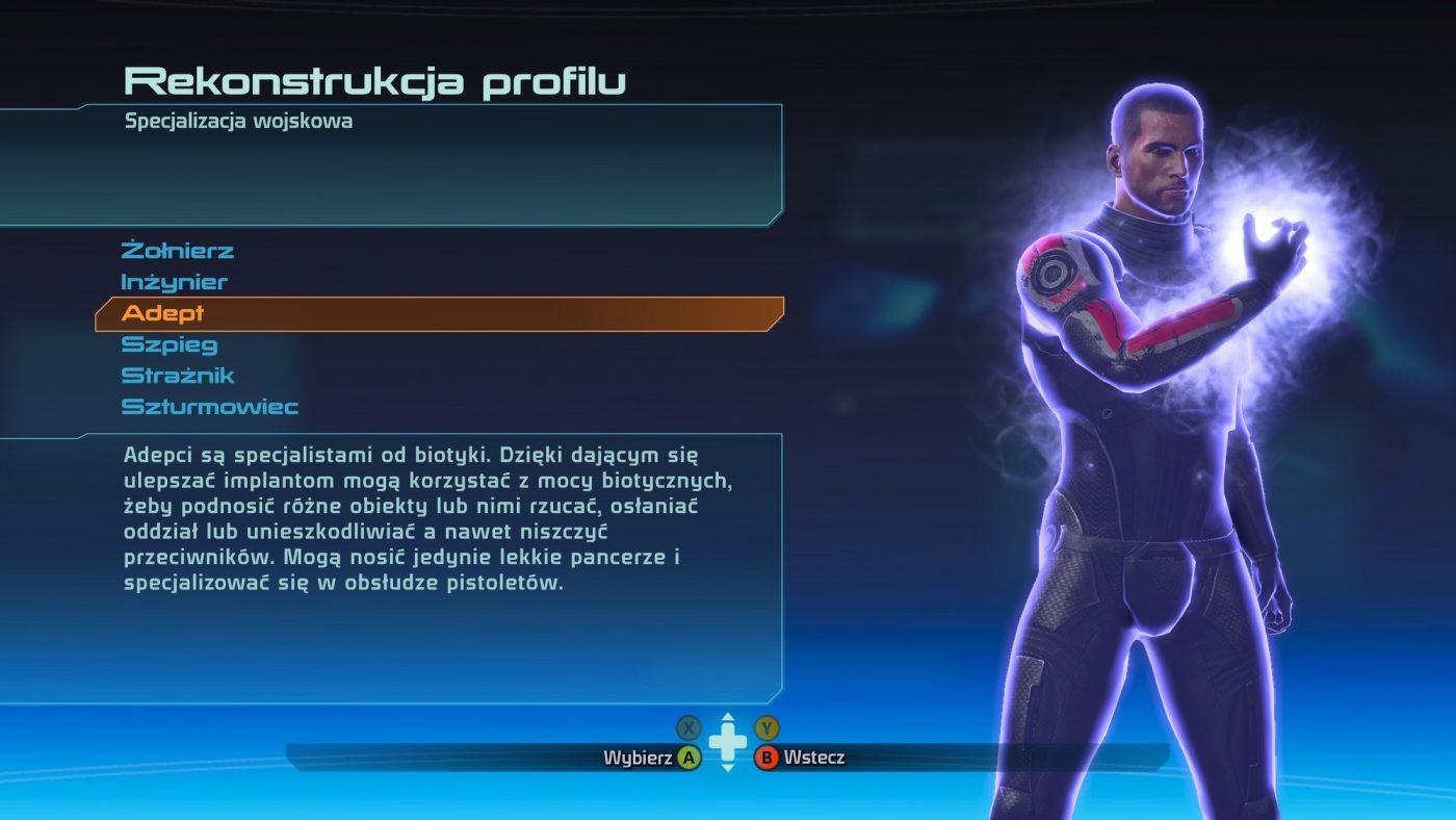 Mass Effect Edycja Legendarna - Tworzenie postaci - Screenshot - fot. Tabletowo.pl