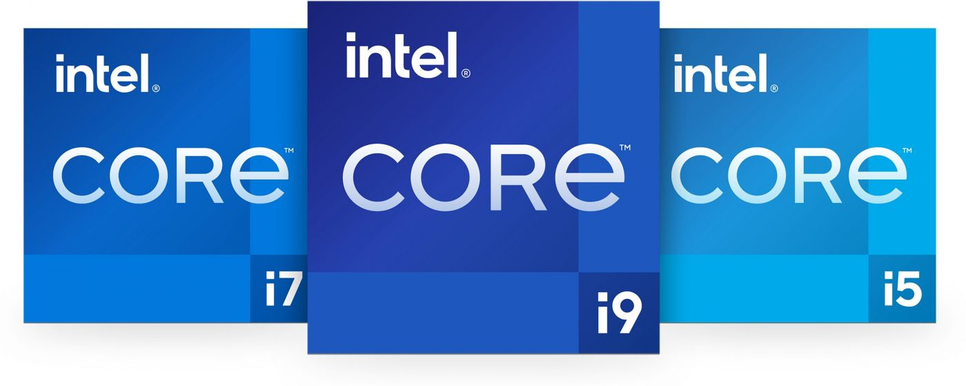 procesory Intel Core i5 i7 i9 logo