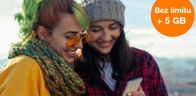 promocja Orange na kartę bez limitu + 5 GB internetu na 5 dni