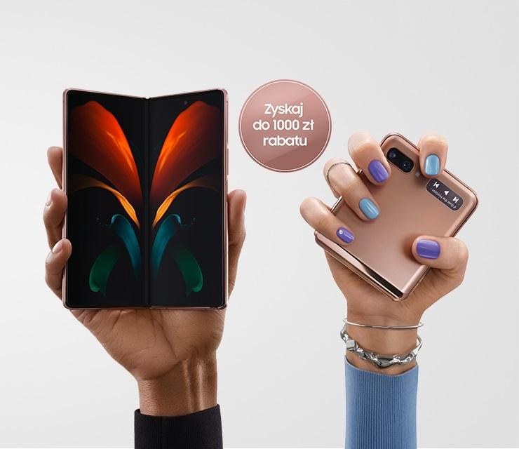 promocja Samsung Galaxy Z Fold 2 Galaxy Z Flip 5G